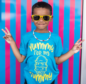 Yummy For My Tummy - Kid's Tee or Tank - West+Mak