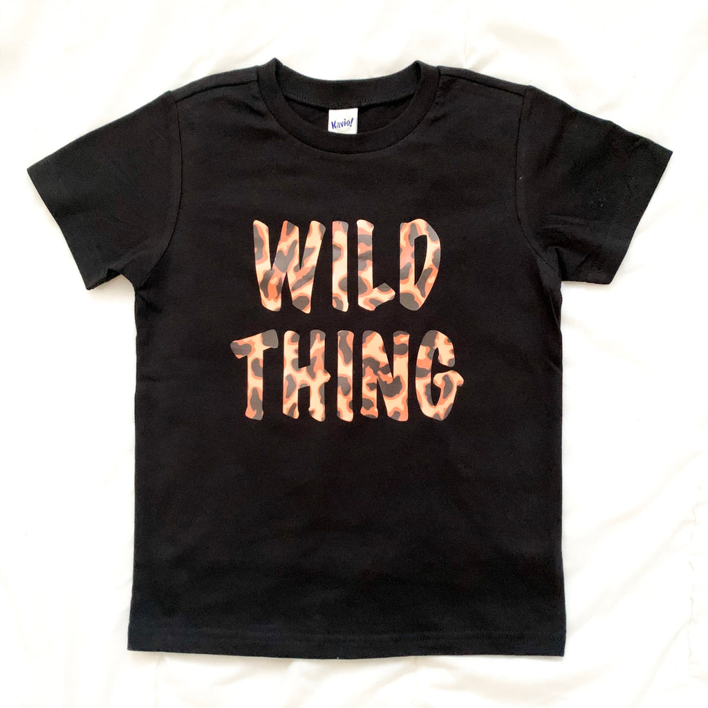 Wild Thing Children's Shirt - West+Mak