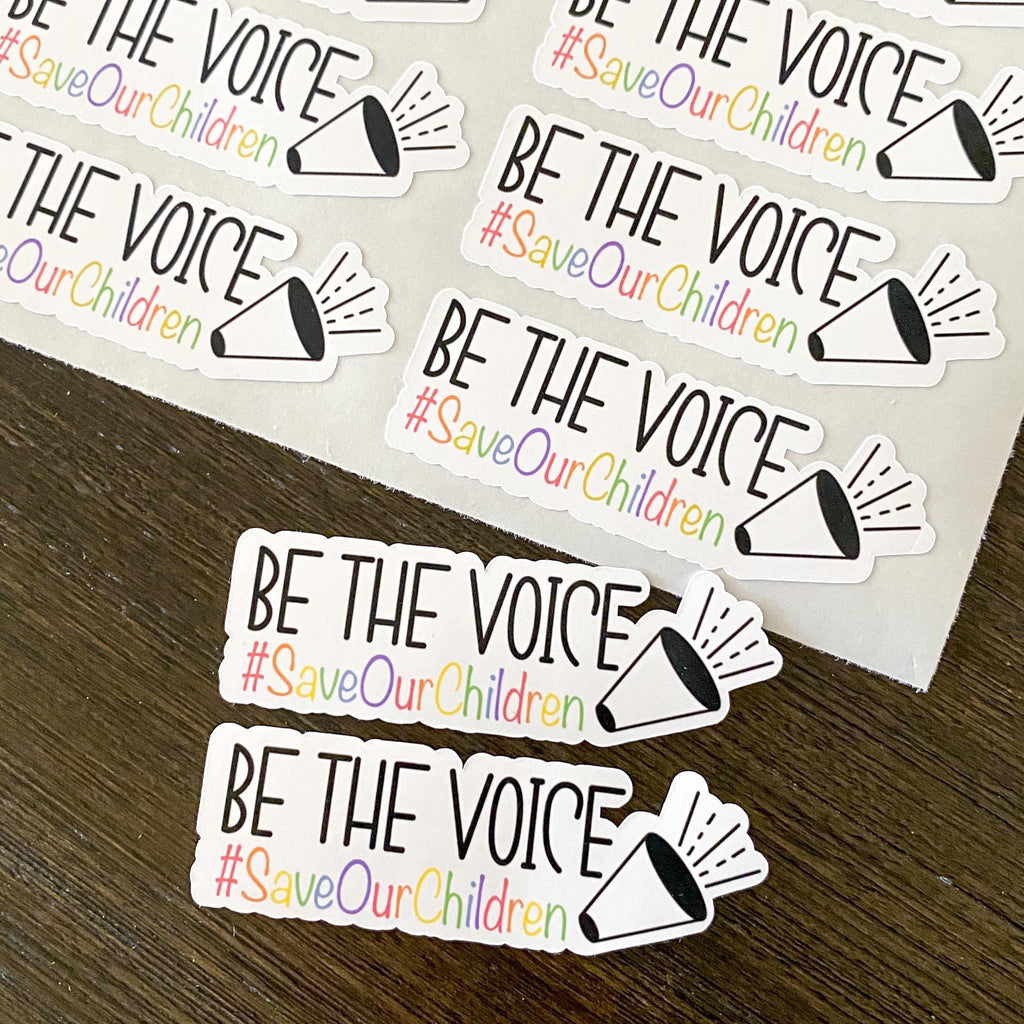 """Be the Voice"" Stickers"