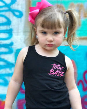 Total Babe Kid Shirt - Tank - West+Mak