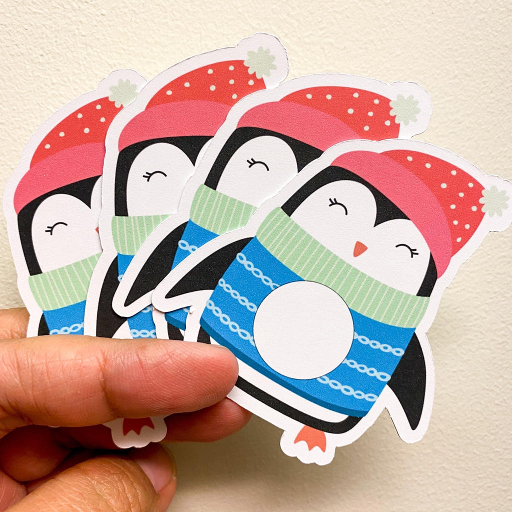 Penguin Scratch Off Cards - Individually Cut