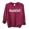thankful! - Adult Unisex Pullover - West+Mak