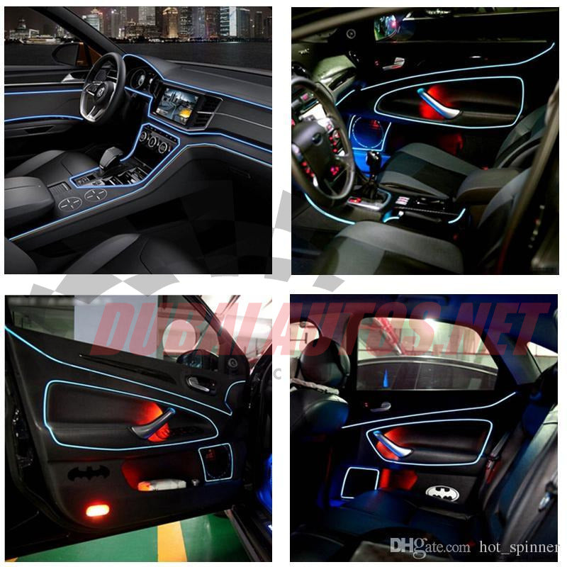 El Wire Flexible Neon Glow Light – Dubaiautos.net