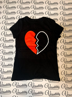 Versatility Womens V-Neck Tee [BLACK]