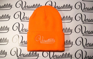"Versatility ""LOGO"" Beanie [ORANGE]"