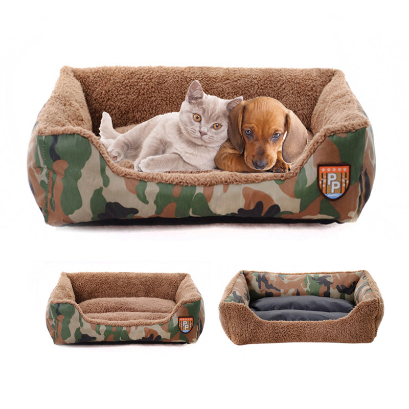 Eco-Friendly Camo Dog Beds
