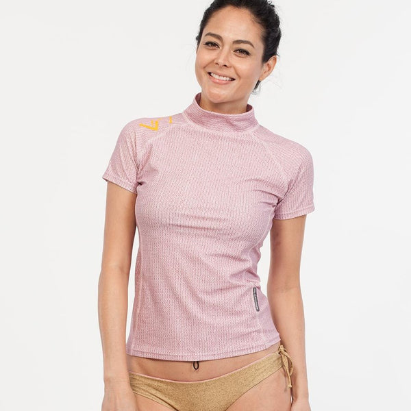 BALI Short Sleeve - Rose 78% Recycled Polyester