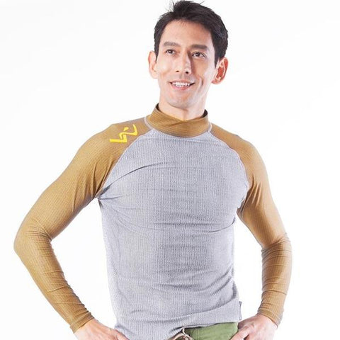 PHUKET Long Sleeve - mouse 78% Recycled Polyester