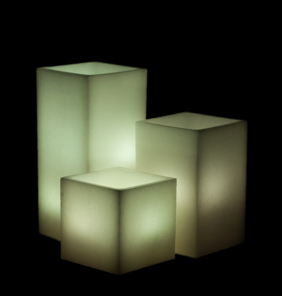 Handmade Wax Luminaries