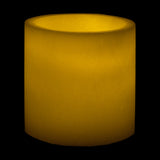 "Sizes Available - 5""x Round Wax Luminary - IntelliWick"