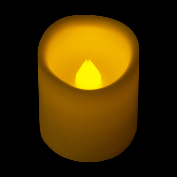 Amber LED Timer Votive - Pack of 6 - IntelliWick