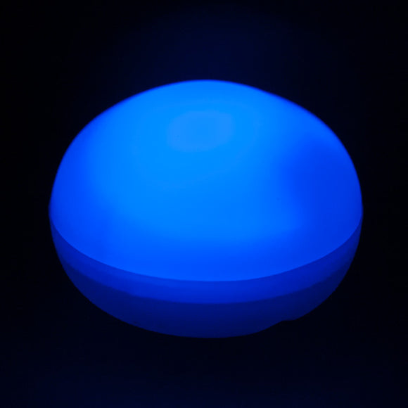 Blue LED Blimp, Available In Blinking/ Non-Blinking - Pack of 12 - IntelliWick