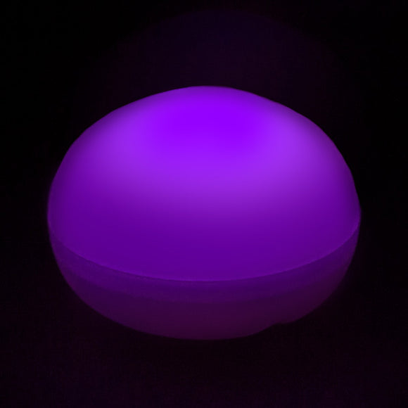 Purple LED Blimp, Available In Blinking/ Non-Blinking - Pack of 12 - IntelliWick