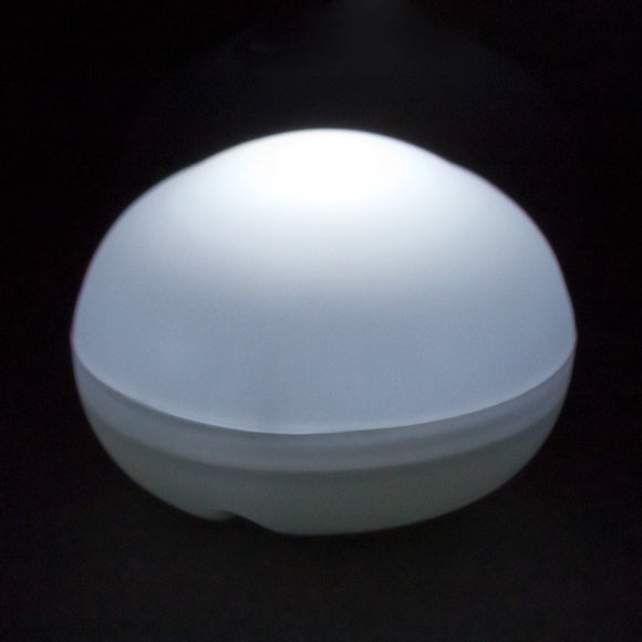 White LED Blimp, Available In Blinking/ Non-Blinking - Pack of 12 - IntelliWick