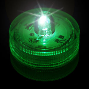 Green One LED Submersible - Pack of 10 - IntelliWick