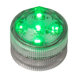 Green Five LED Submersible - Pack of 10 - IntelliWick