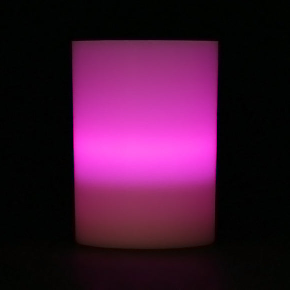 Purple LED Votive Cup, Available in Flicker/ Non-Flicker - Pack of 6 - IntelliWick