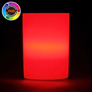 RGB LED Votive Cup, Available in Flicker/ Non-Flicker - Pack of 6 - IntelliWick
