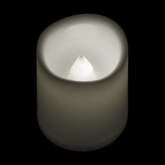 Warm White LED Timer Votive - Pack of 6 - IntelliWick