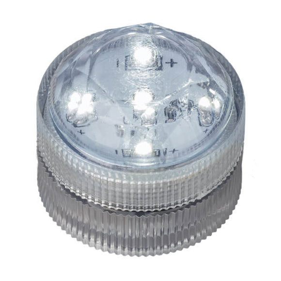 White Five LED Submersible - Pack of 10 - IntelliWick