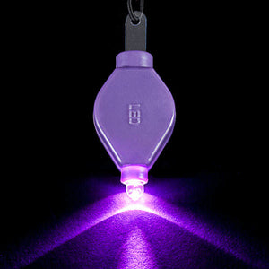 Purple LED Floral Light - Pack of 10 - IntelliWick