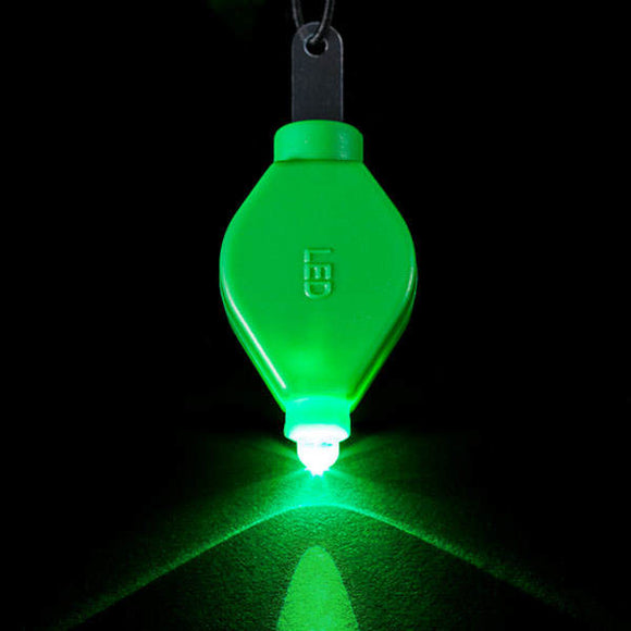 Green LED Floral Light - Pack of 10 - IntelliWick