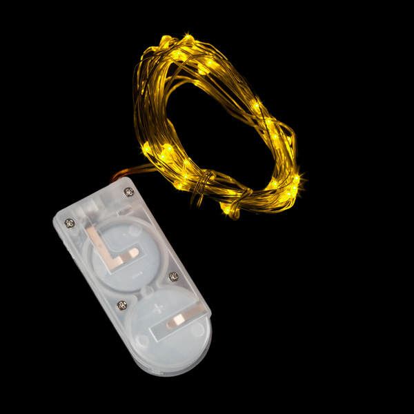 Amber Forty LED String Light - Pack of 2 - IntelliWick
