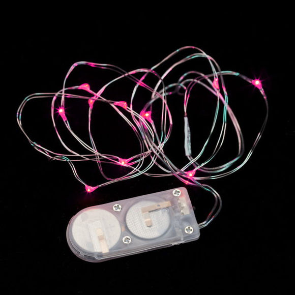 Pink Ten LED String Light - Pack of 3 - IntelliWick