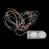 Red Twenty LED String Light - Pack of 3 - IntelliWick