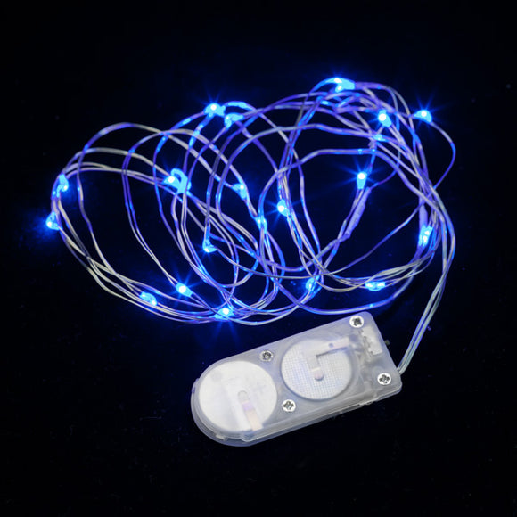Blue Twenty LED String Light - Pack of 3 - IntelliWick
