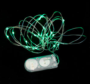 Green Twenty LED String Light - Pack of 3 - IntelliWick