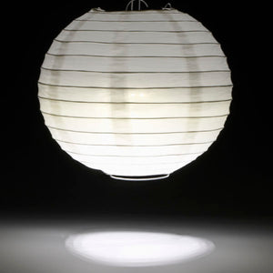 White Nine LED Lantern Light - IntelliWick