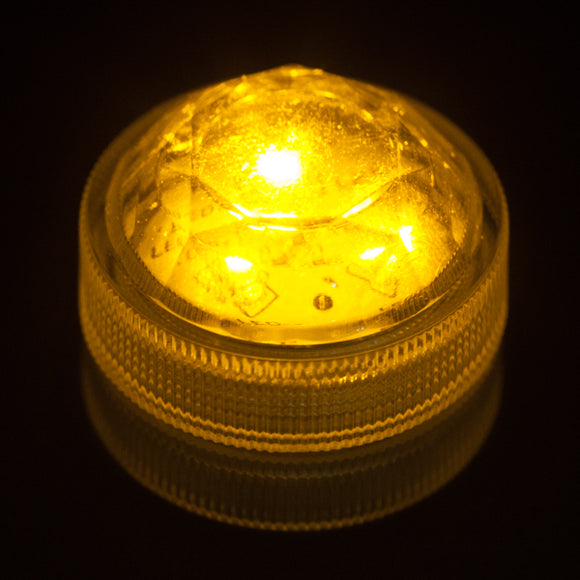 Amber Three LED Submersible - Pack of 10 - IntelliWick