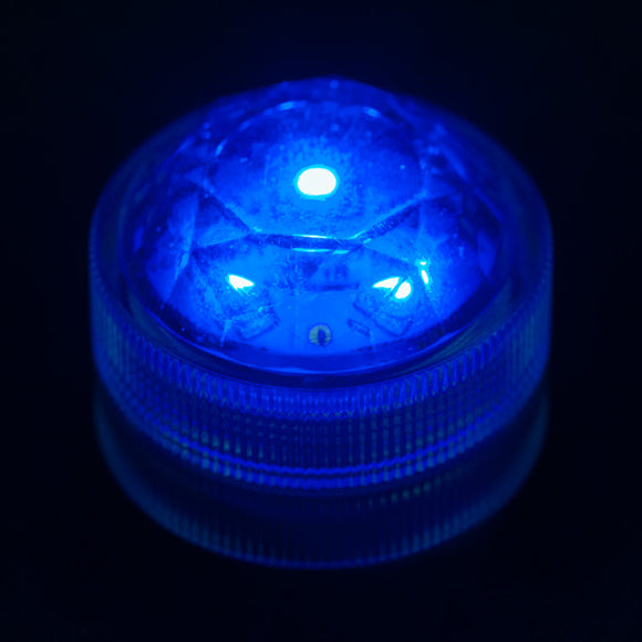 Blue Three LED Submersible - Pack of 10 - IntelliWick