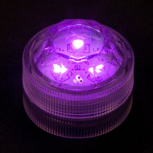 Purple Three LED Submersible - Pack of 10 - IntelliWick
