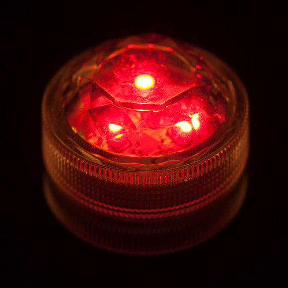 Red Three LED Submersible - Pack of 10 - IntelliWick