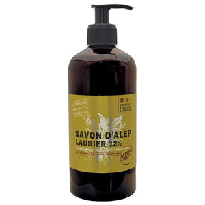 Savon d'Alep Laurier 12% 500ml  I  Aleppo Soap Co. I