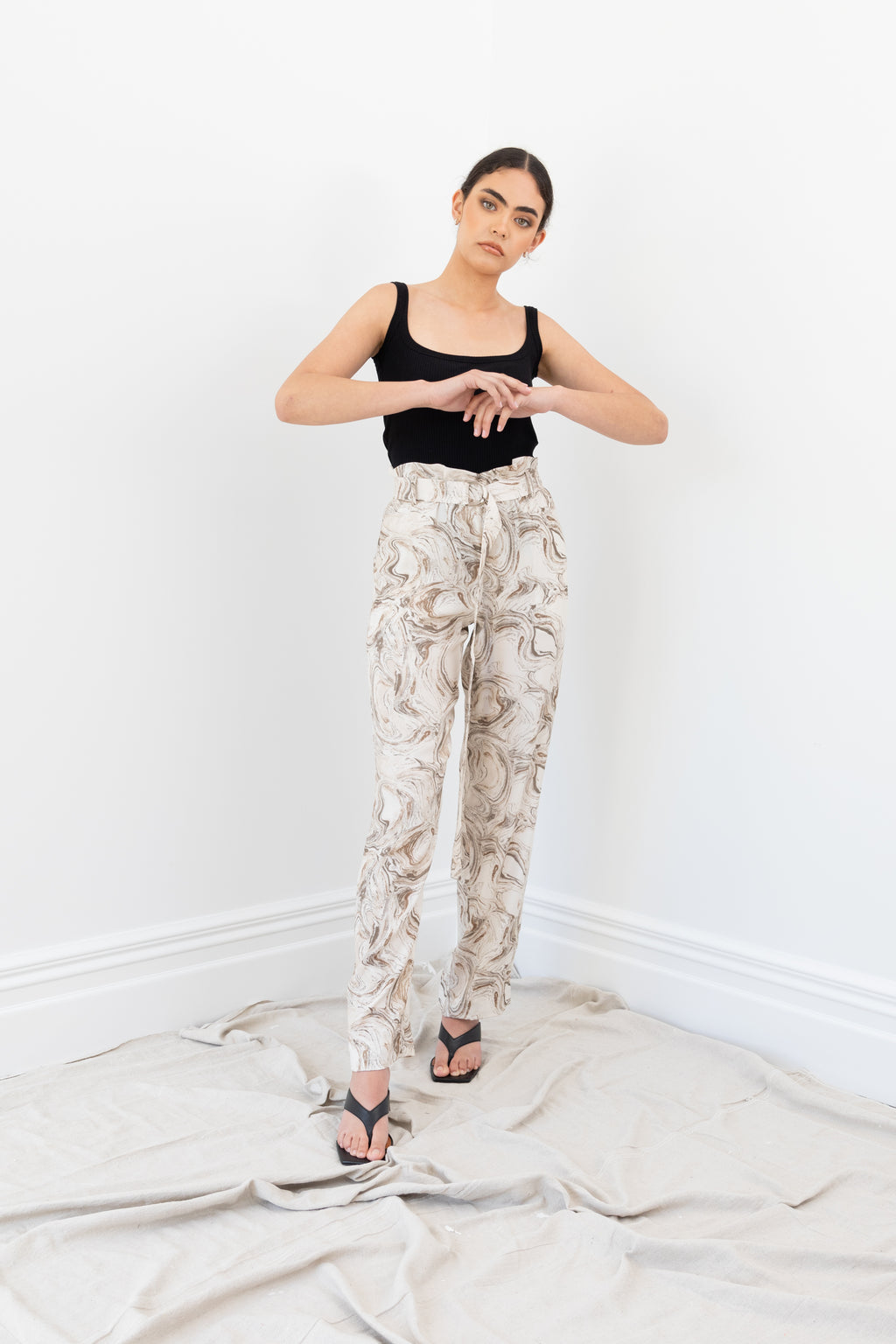 Neo Pants | Marble