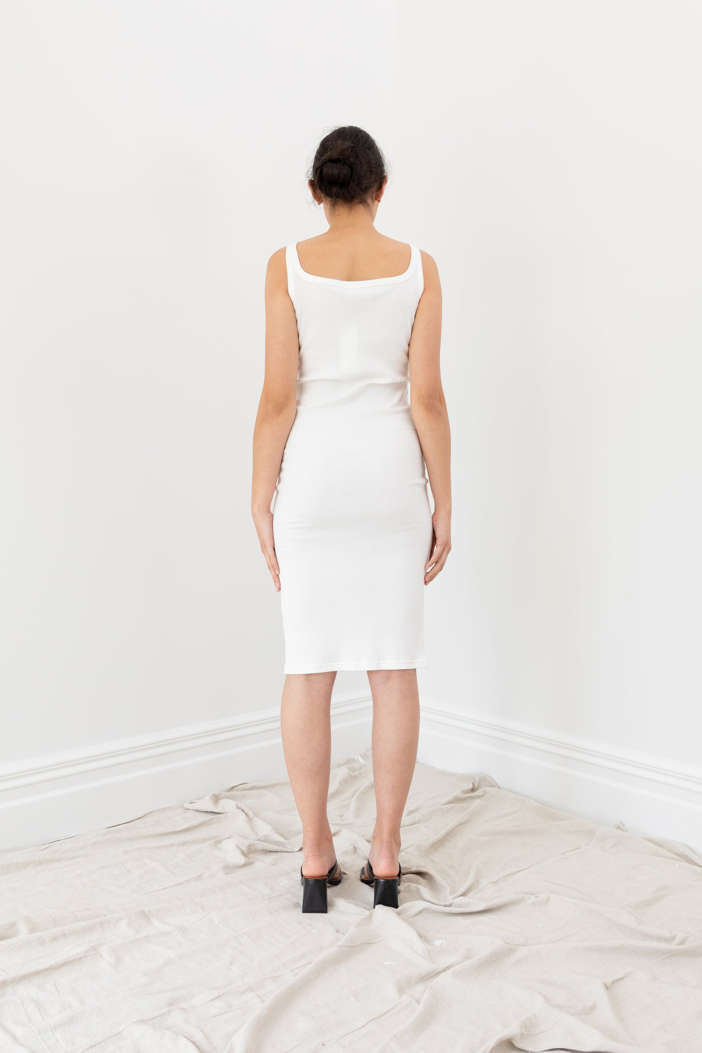 Quick Dip Dress | White