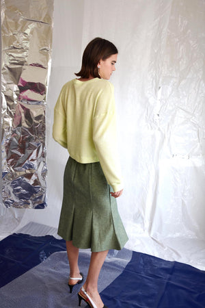 Rumi Skirt | Lucid Green