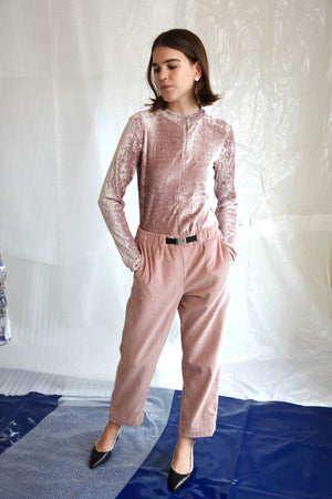 Tokyo Trouser | Pink Cord