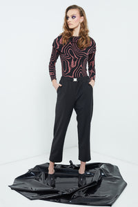 Lobby Pants | Black Suiting