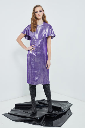 Nightworld Dress | Cosmic Purple