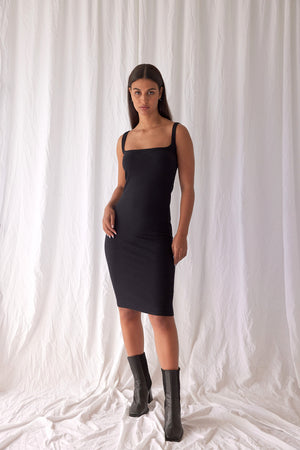 Quick Dip Dress | Black