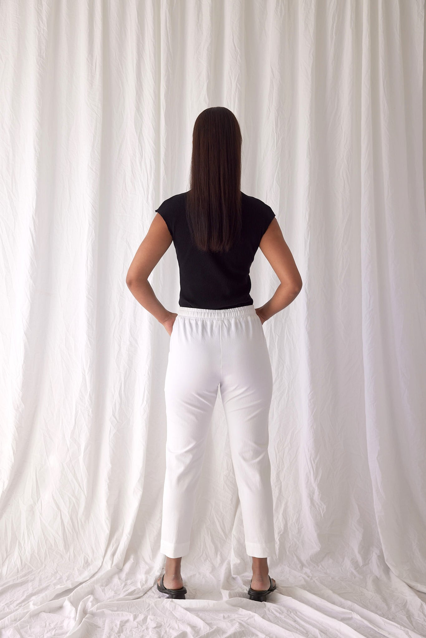 Holiday Pants | White
