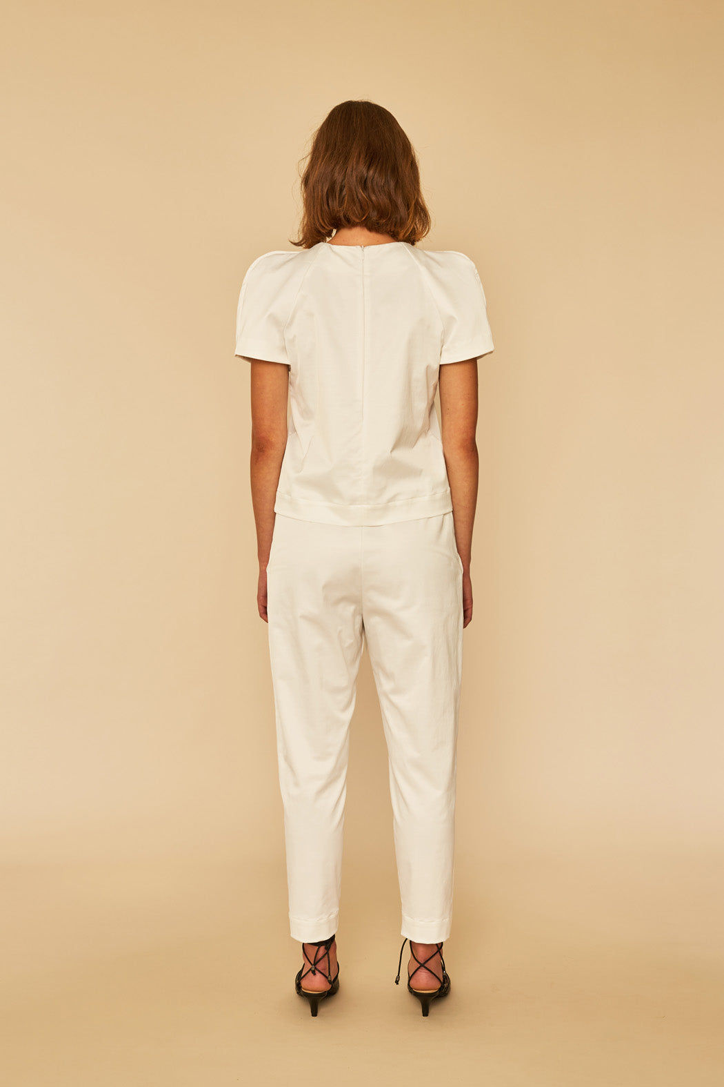 Holiday Pants | White Shine