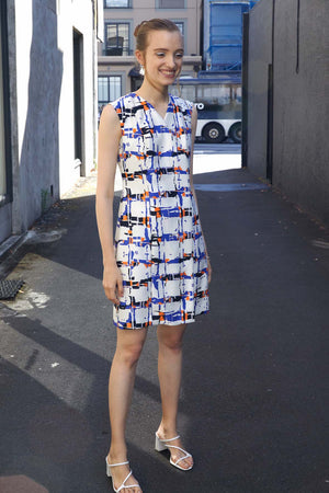 Gallery Coat Dress | Abstract