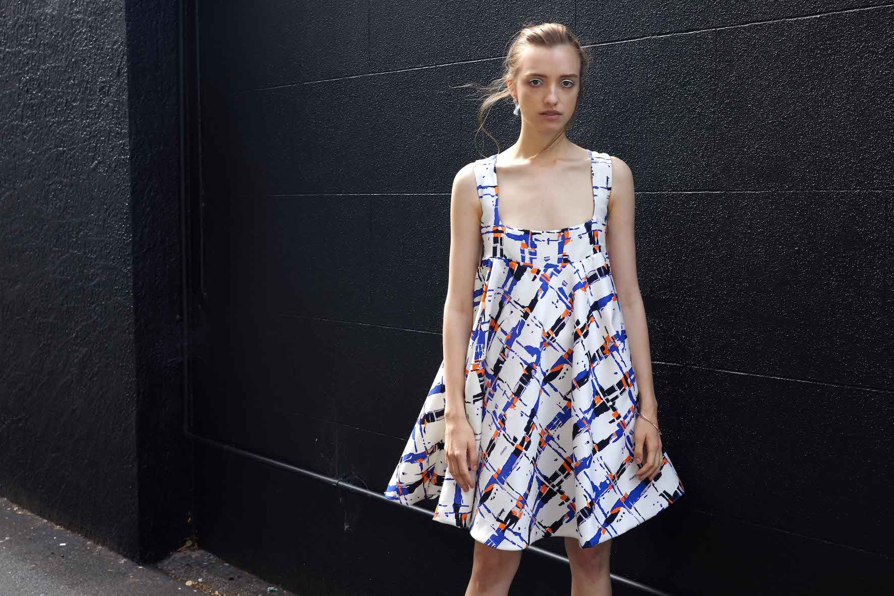Deep Space Dress | Abstract