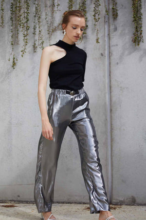 Flight Pants | Liquid Silver