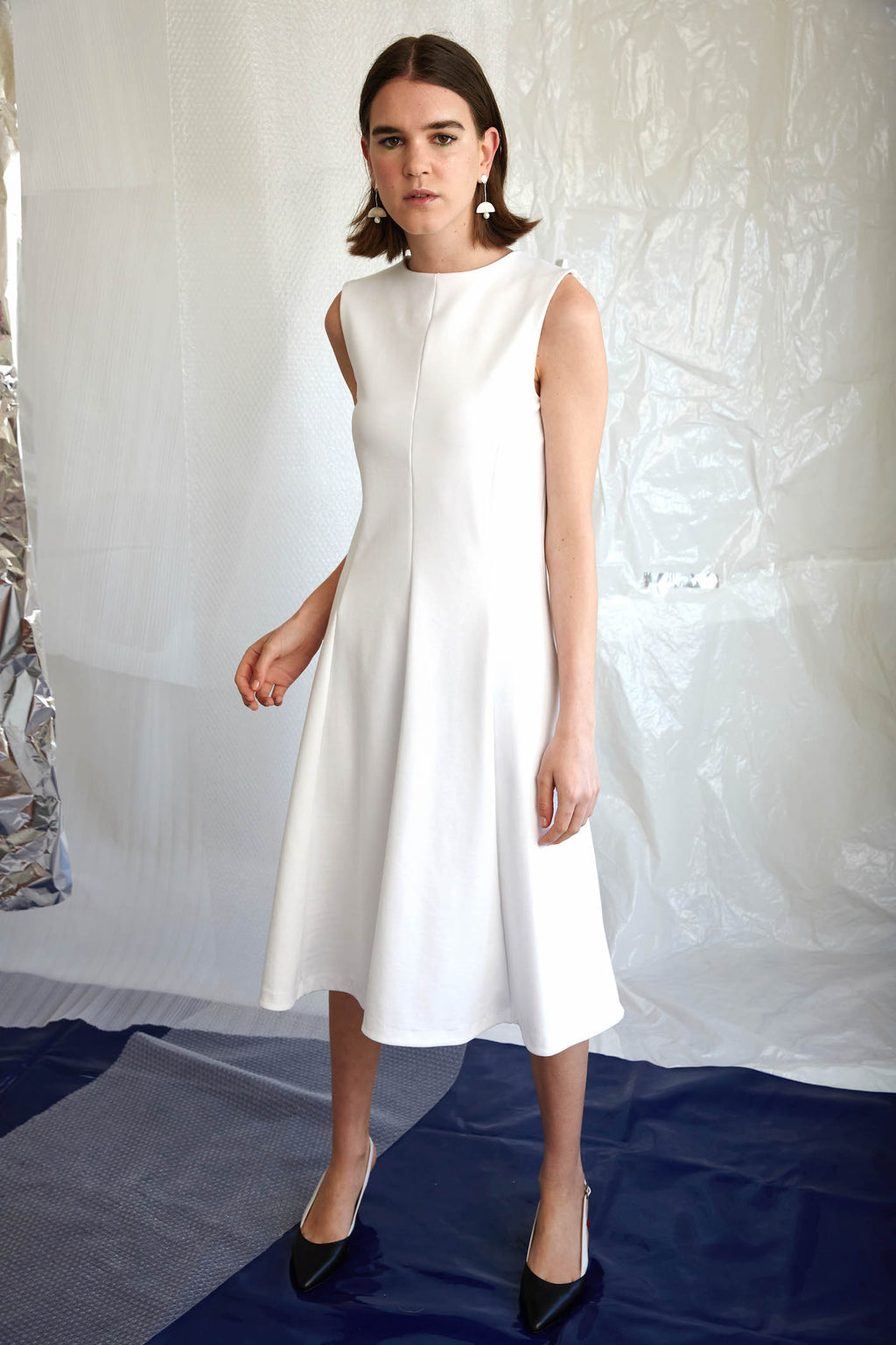 Delusion Dress | White